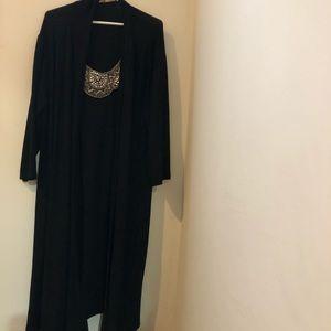 Haani Dresses - Draped black dress